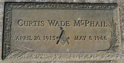 Curtis Wade McPhail