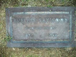 Eveline <I>Reville</I> Saywood