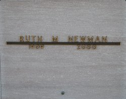 Ruth M Newman