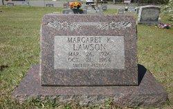 Margaret K Lawson