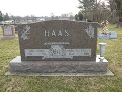 Christina Mae <I>Bruney</I> Haas
