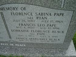 Lorraine Florence <I>Pape</I> Black