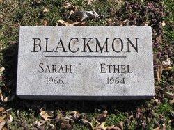 """Sarah Hannah """"Sadie"""" Blackmon"""