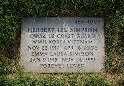 Emma Laura <I>Lewis</I> Simpson