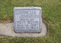 Cornelia <I>Johnson</I> Behr