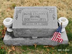 """Boyd """"Sonny"""" Irvine"""