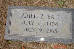 Ariel Zachariah Bair