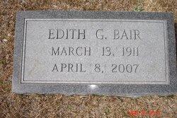 Edith <I>Griffith</I> Bair