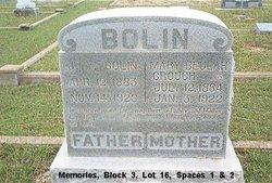 Mary Beulah <I>Crouch</I> Bolin