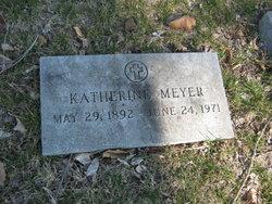 Katherine <I>Mayer</I> Meyer