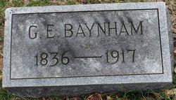 Gregory Eggleston Baynham