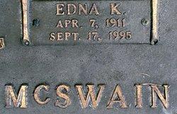 Edna K. McSwain