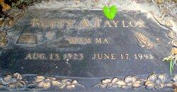 Betty A. Taylor