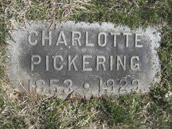 Charlotte <I>White</I> Pickering