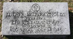 Corp Luther Lyle Reynolds
