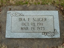 Ira Francis Sliger, Sr