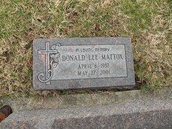 Donald Lee Mattox