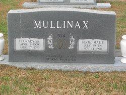 Bertie Mae <I>Cleary</I> Mullinax