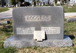 Nancy Belle <I>Hawkins</I> Boggess