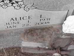 "Alice L ""Tennie"" Booth"