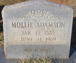 Mollie B. <I>Ragland</I> Adamson