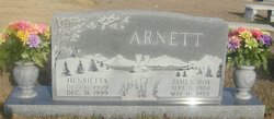 Henrietta <I>Olive</I> Arnett