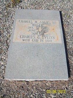 Charles McElroy Adams, III