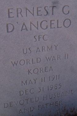 Ernest G D'Angelo