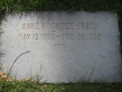 Anne <I>Buckbee</I> Bliss