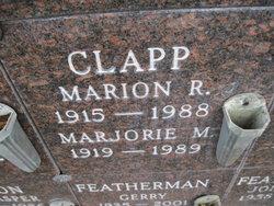Marion Richard Clapp