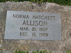 Norma Olene <I>Hatchett</I> Allison