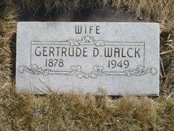 M. Gertrude <I>Dean</I> Walck