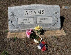 """Olvis Oren """"Boss"""" Adams"""