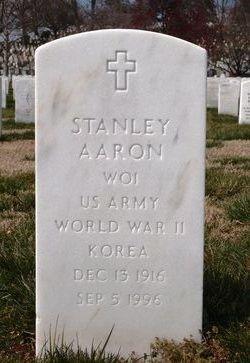 WO Stanley Aaron