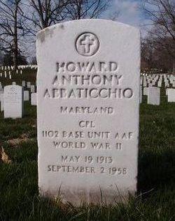 CPL Howard Anthony Abbaticchio