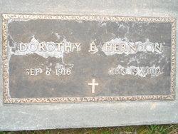 Dorothy Ellen <I>Davis</I> Herndon