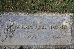 Sophye Beatrice <I>Jackson</I> Thompson