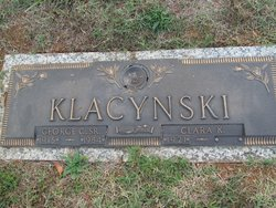 George Chester Klacynski, Sr