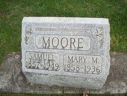 Mary Melissa <I>Bowman</I> Moore