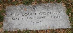 """Ada Louise """"Gaga"""" <I>Peters</I> Godfrey"""