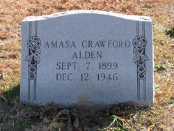 """Amasa Crawford """"Cotton"""" Alden"""