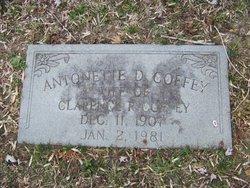 Antoinette Holmes <I>Devereaux</I> Coffey