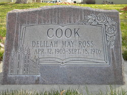 Delilah May <I>Ross</I> Cook