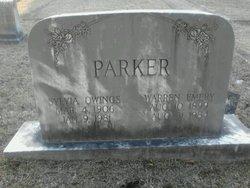 Sylvia <I>Owings</I> Parker