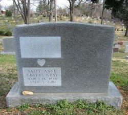Sally Anne <I>Govers</I> Gray