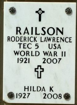 Roderick Lawrence Railson