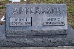 Laura Alice <I>Christie</I> Applegate