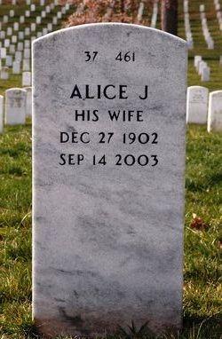 Alice J Barlett