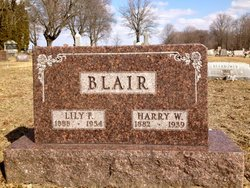 Lilly Florence <I>VanHorn</I> Blair