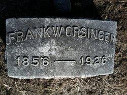 """Franciscus W """"Frank"""" Orsinger"""
